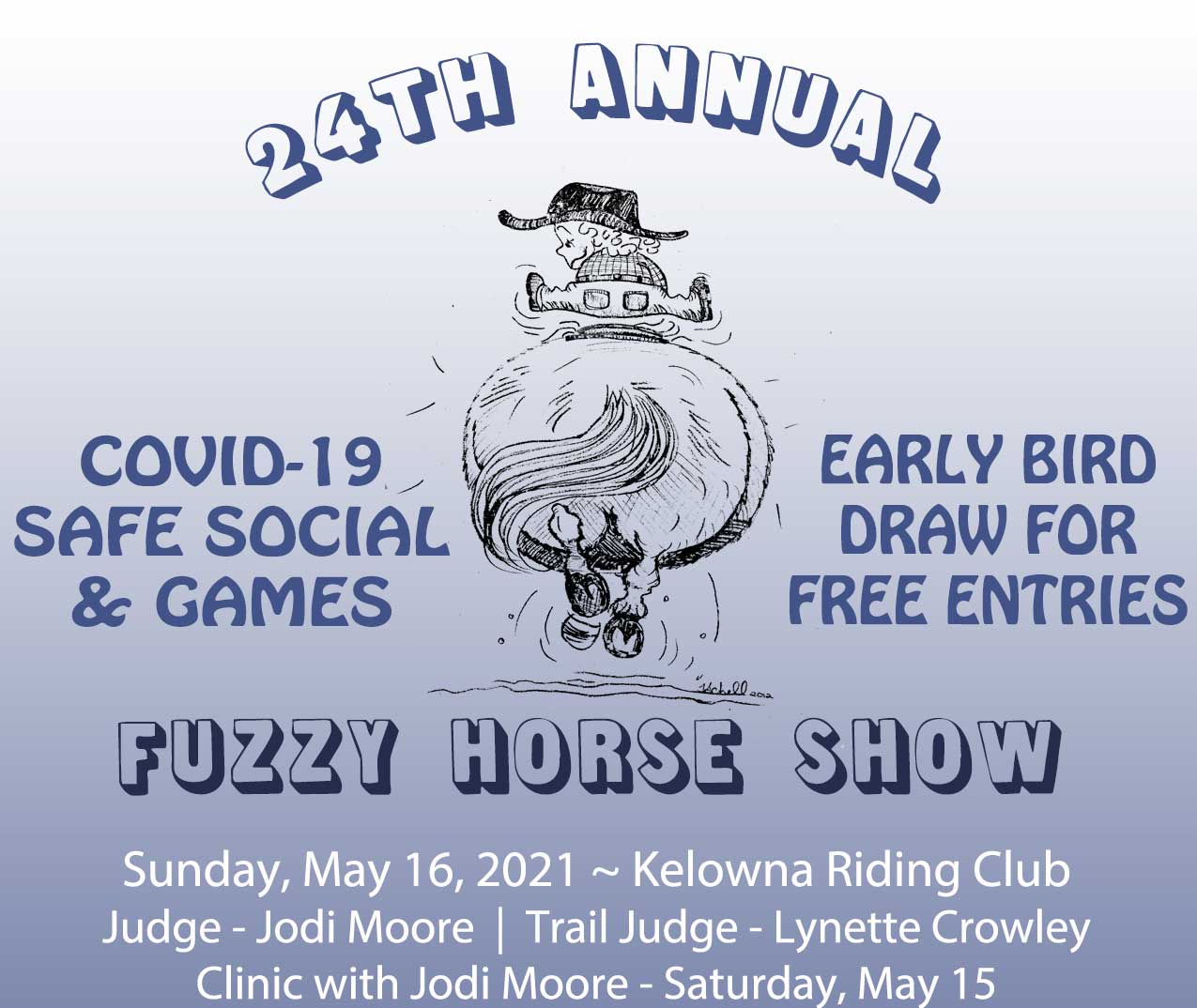24th Annual Fuzzy Horse Show